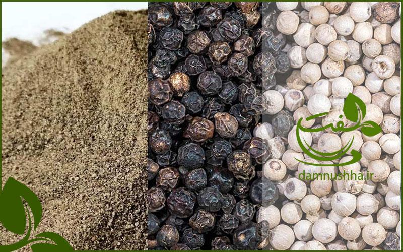 صادرات و واردات فلفل سیاه
